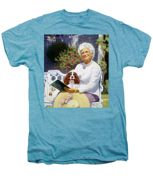 Companions In The Garden Men's Premium T-Shirt by Candace Lovely