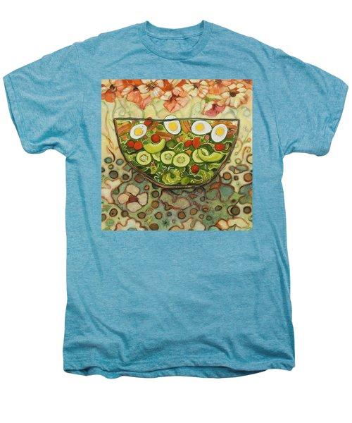 Cool Summer Salad Men's Premium T-Shirt by Jen Norton