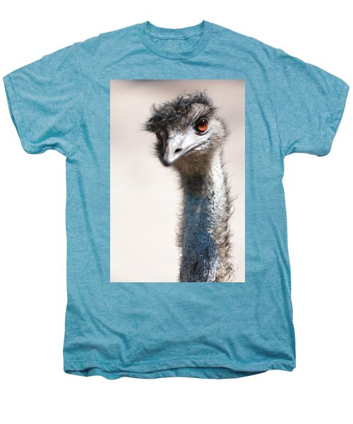 Curious Emu Men's Premium T-Shirt by Carol Groenen