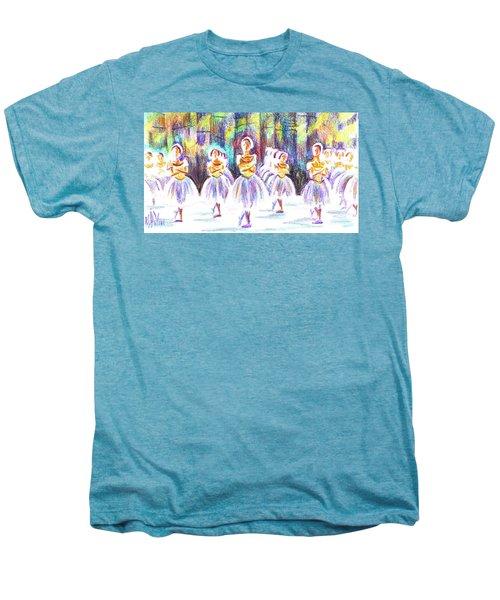 Dancers In The Forest II Men's Premium T-Shirt by Kip DeVore