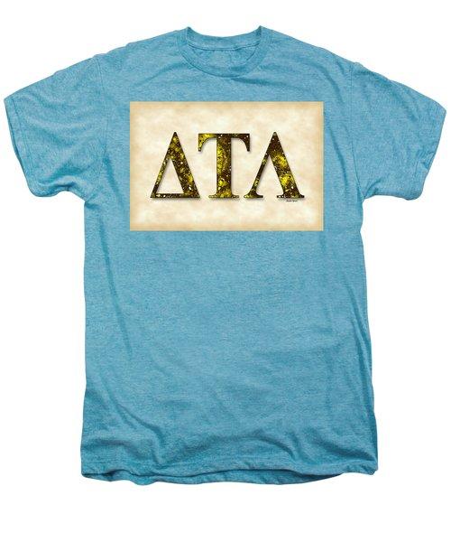 Delta Tau Lambda - Parchment Men's Premium T-Shirt by Stephen Younts