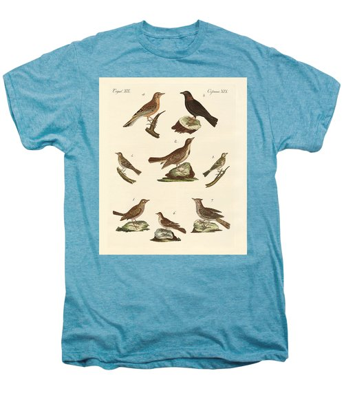 Different Kinds Of Larks Men's Premium T-Shirt by Splendid Art Prints