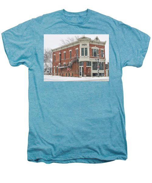 Downtown Whitehouse  7031 Men's Premium T-Shirt by Jack Schultz