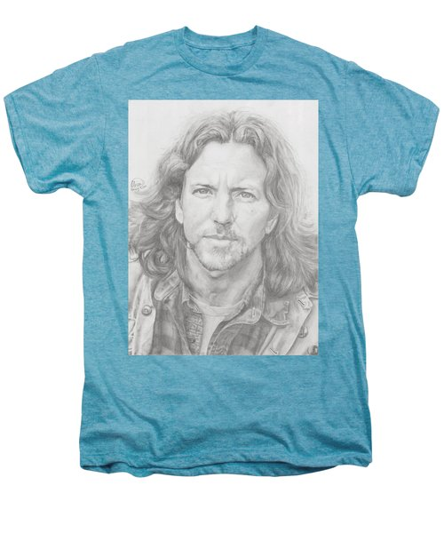 Eddie Vedder Men's Premium T-Shirt by Olivia Schiermeyer