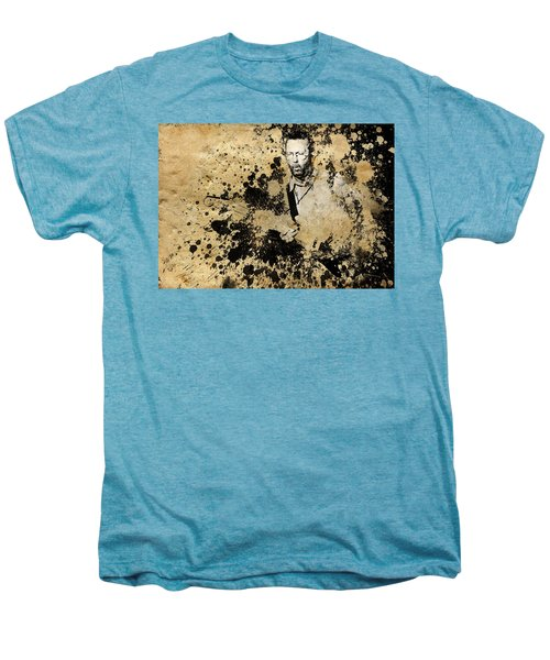 Eric Clapton 3 Men's Premium T-Shirt by Bekim Art