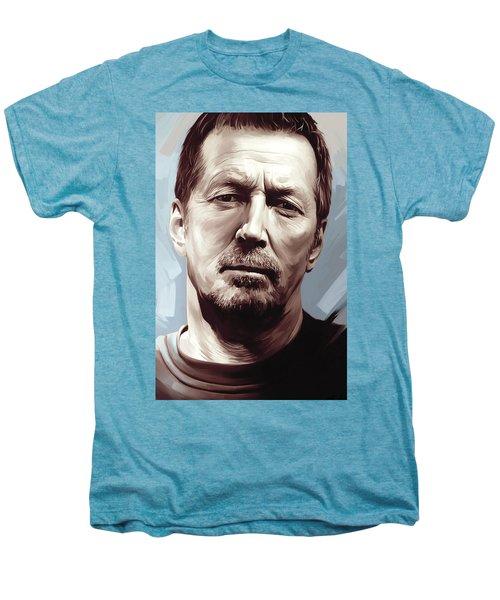 Eric Clapton Artwork Men's Premium T-Shirt by Sheraz A
