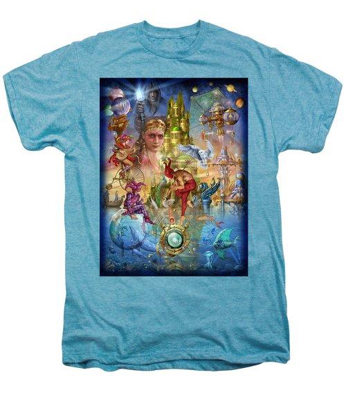 Fantasy Island Men's Premium T-Shirt by Ciro Marchetti