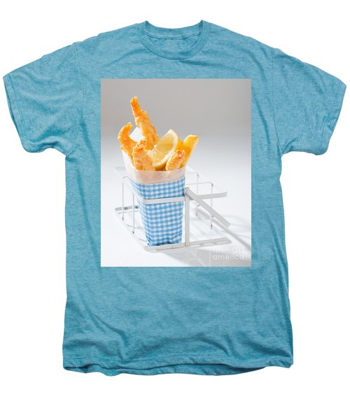 Fish And Chips Men's Premium T-Shirt by Amanda Elwell