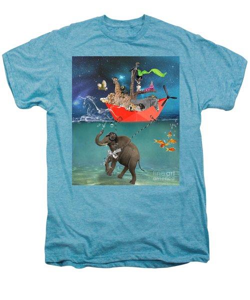 Floating Zoo Men's Premium T-Shirt by Juli Scalzi