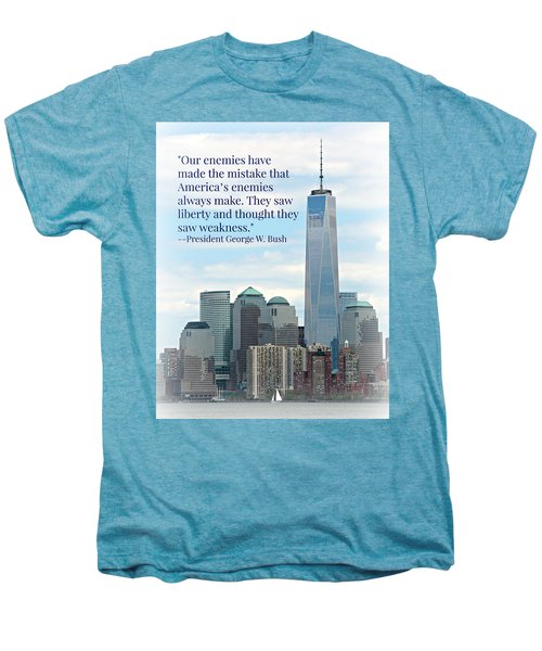 Freedom On The Rise Men's Premium T-Shirt by Stephen Stookey