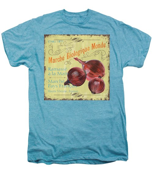 French Market Sign 4 Men's Premium T-Shirt by Debbie DeWitt
