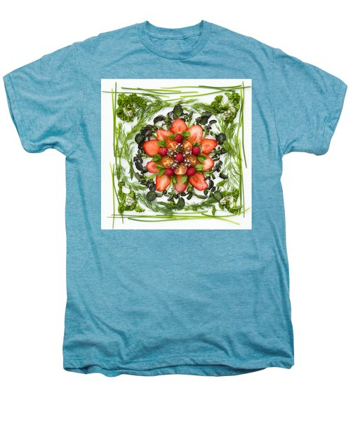 Fresh Fruit Salad Men's Premium T-Shirt by Anne Gilbert