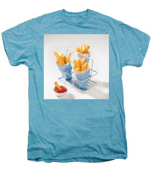 Fries Men's Premium T-Shirt by Amanda Elwell