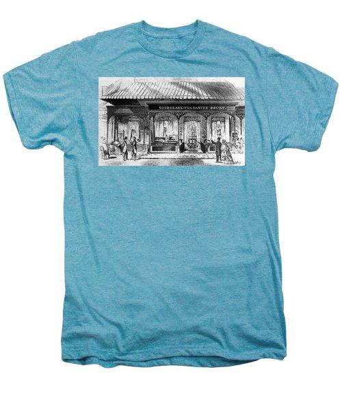 Goodyear Rubber Exhibit Men's Premium T-Shirt by Underwood Archives