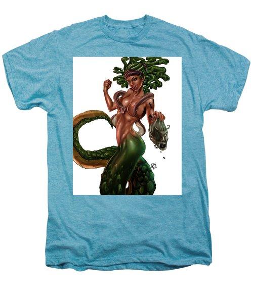 Gorgon Men's Premium T-Shirt by Pete Tapang