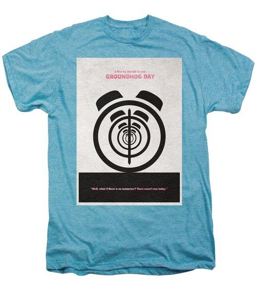 Groundhog Day Men's Premium T-Shirt by Ayse Deniz