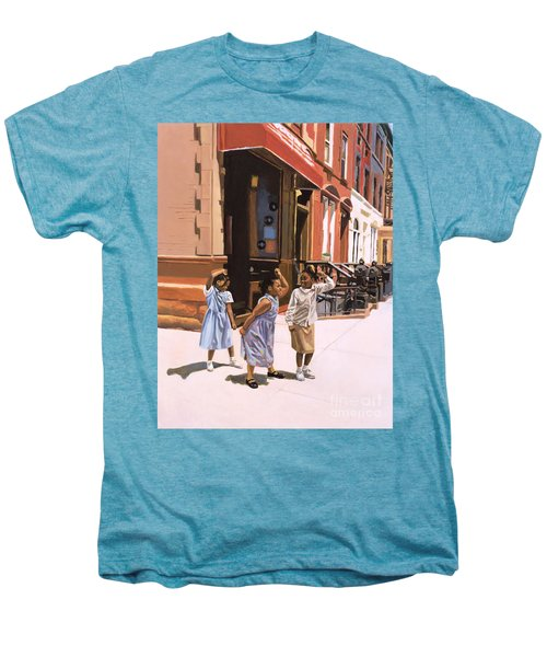 Harlem Jig Men's Premium T-Shirt by Colin Bootman