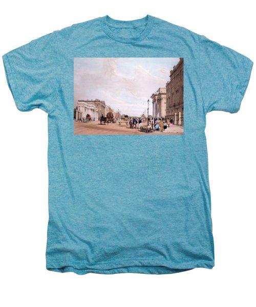 Hyde Park Corner, Looking Men's Premium T-Shirt by Thomas Shotter Boys