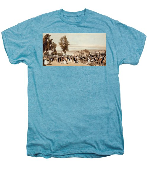 Hyde Park, Towards The Grosvenor Gate Men's Premium T-Shirt by Thomas Shotter Boys