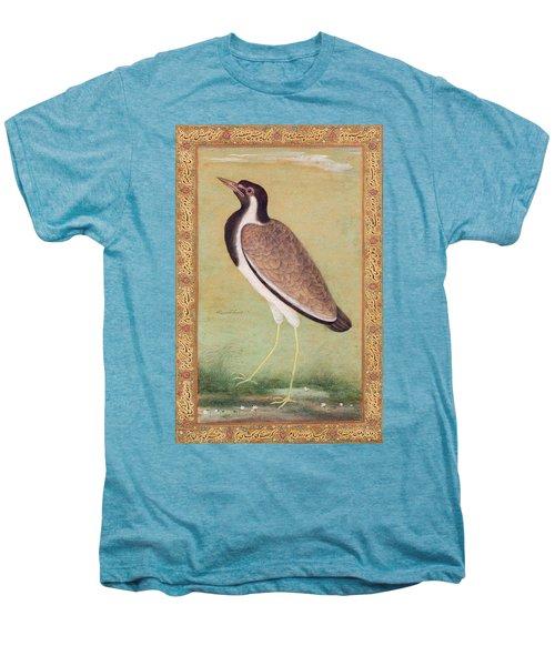Indian Lapwing Men's Premium T-Shirt by Mansur