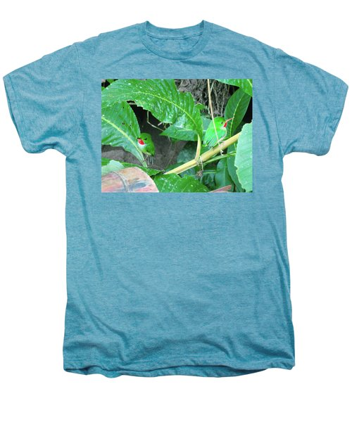 Jamaican Toadies Men's Premium T-Shirt by Carey Chen