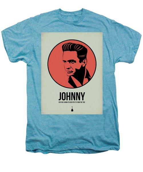 Johnny Poster 2 Men's Premium T-Shirt by Naxart Studio