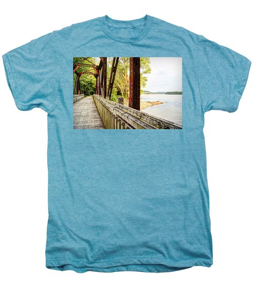Katy Trail Near Coopers Landing Men's Premium T-Shirt by Cricket Hackmann