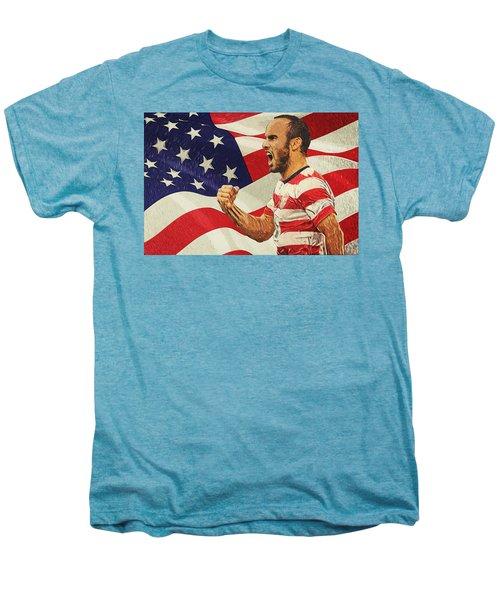 Landon Donovan Men's Premium T-Shirt by Taylan Apukovska