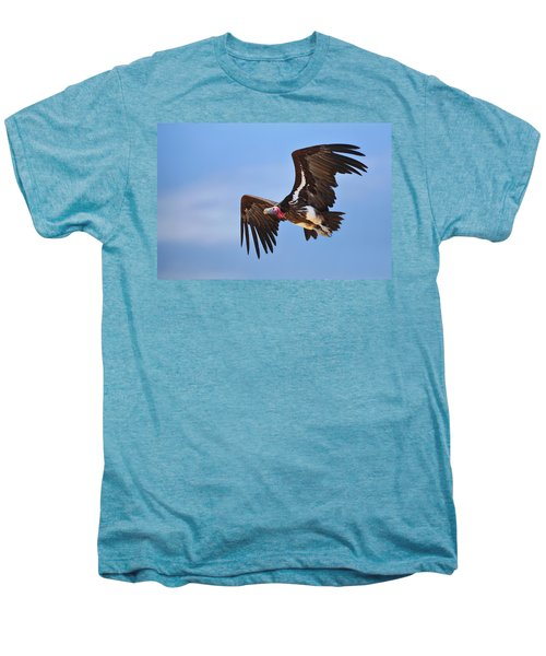 Lappetfaced Vulture Men's Premium T-Shirt by Johan Swanepoel