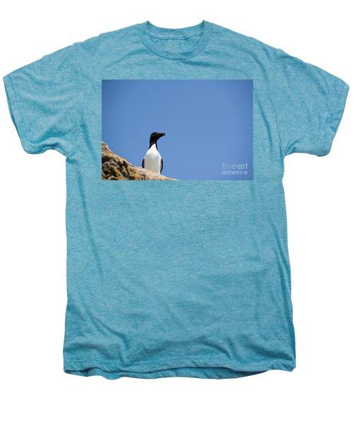 Look At Me Men's Premium T-Shirt by Anne Gilbert