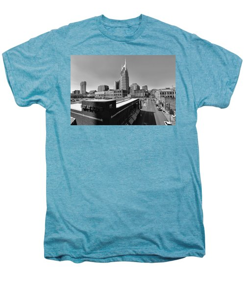 Looking Down On Nashville Men's Premium T-Shirt by Dan Sproul