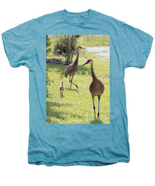 Looking For A Handout Men's Premium T-Shirt by Carol Groenen