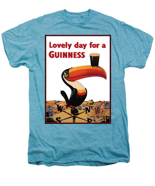Lovely Day For A Guinness Men's Premium T-Shirt by Nomad Art