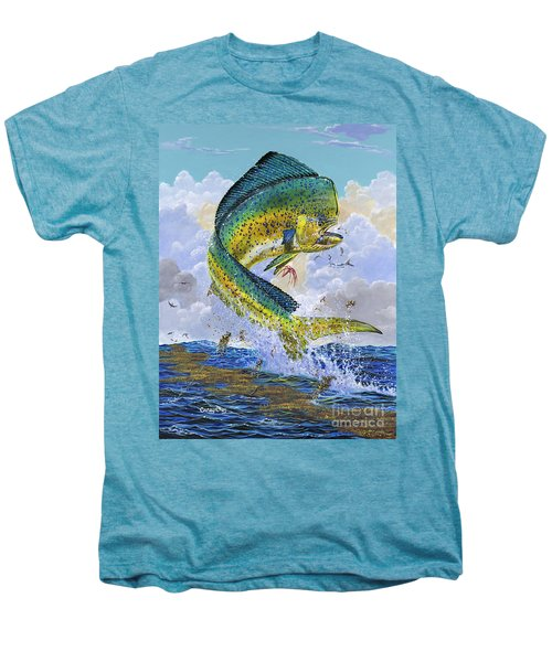Mahi Hookup Off0020 Men's Premium T-Shirt by Carey Chen