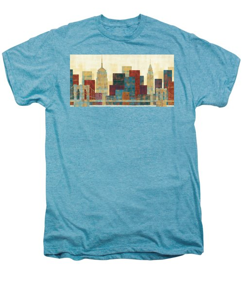 Majestic City Men's Premium T-Shirt by Michael Mullan