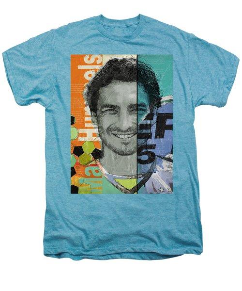 Mats Hummels - B Men's Premium T-Shirt by Corporate Art Task Force