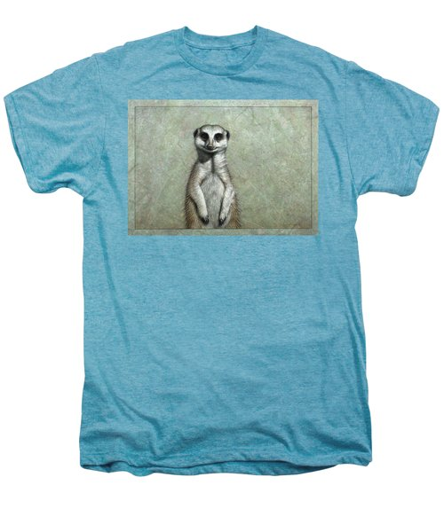 Meerkat Men's Premium T-Shirt by James W Johnson