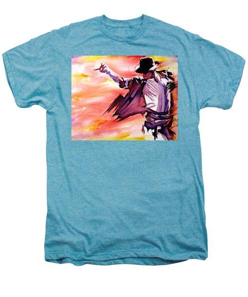 Michael Jackson-billie Jean Men's Premium T-Shirt by Joshua Morton