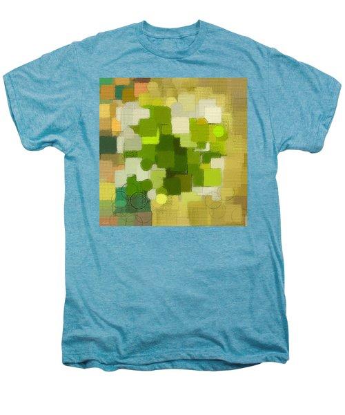 Modern Abstract Xxxv Men's Premium T-Shirt by Lourry Legarde