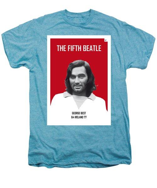 My Best Soccer Legend Poster Men's Premium T-Shirt by Chungkong Art