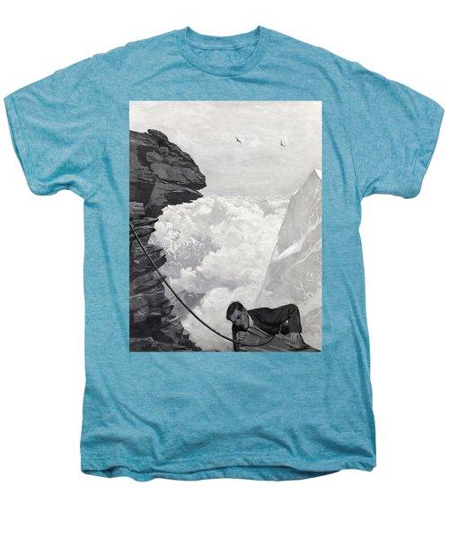 Nearly There Men's Premium T-Shirt by Arthur Herbert Buckland