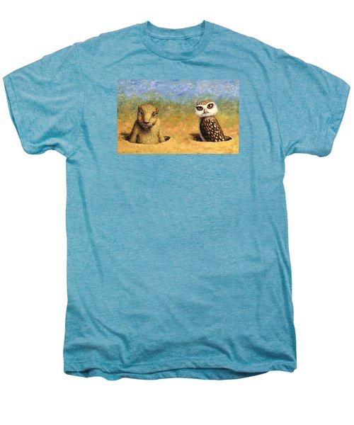 Neighbors Men's Premium T-Shirt by James W Johnson