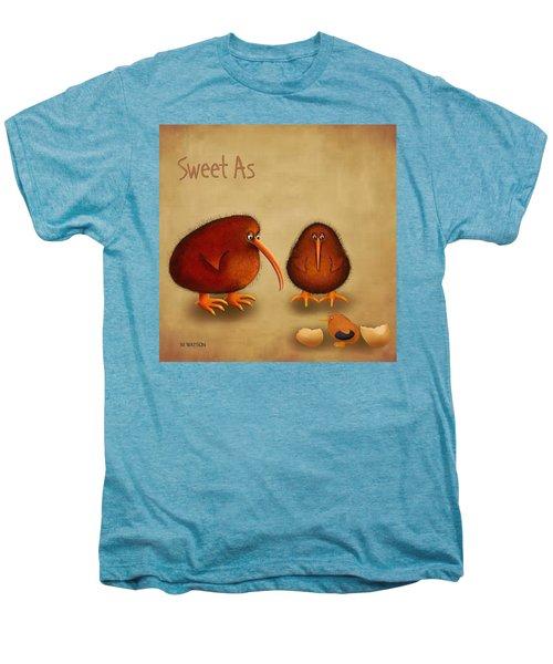 New Arrival. Kiwi Bird - Sweet As - Boy Men's Premium T-Shirt by Marlene Watson