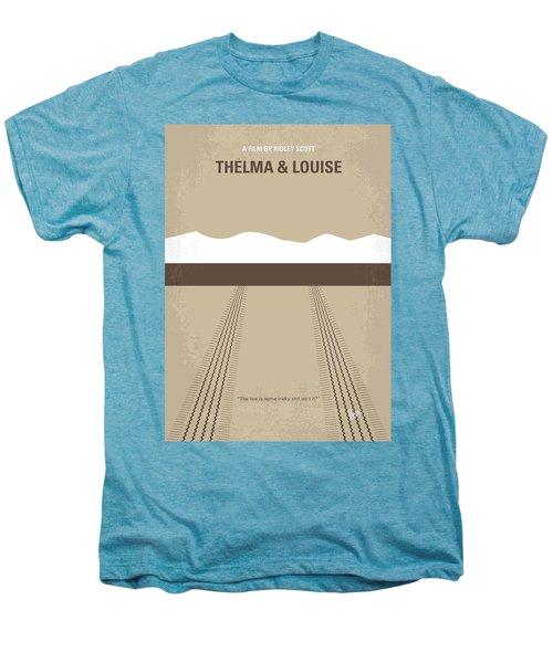 No189 My Thelma And Louise Minimal Movie Poster Men's Premium T-Shirt by Chungkong Art