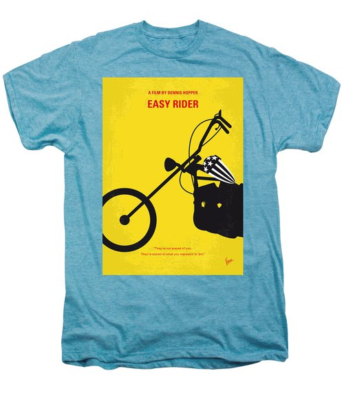 No333 My Easy Rider Minimal Movie Poster Men's Premium T-Shirt by Chungkong Art