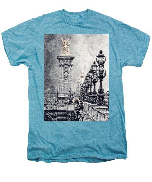 Paris Pompous 2 Men's Premium T-Shirt by Joachim G Pinkawa