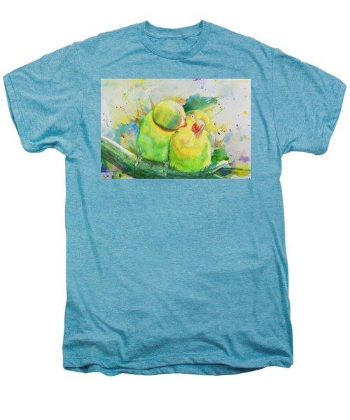 Parrots Men's Premium T-Shirt by Catf