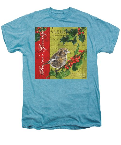 Peace On Earth 1 Men's Premium T-Shirt by Debbie DeWitt