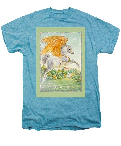 Pegasus Men's Premium T-Shirt by Lynn Bywaters