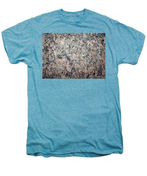 Pollock's Number 1 -- 1950 -- Lavender Mist Men's Premium T-Shirt by Cora Wandel